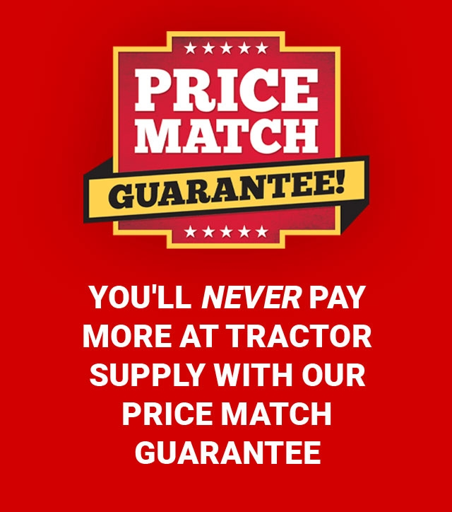 Price Match - Tractor Supply Co.