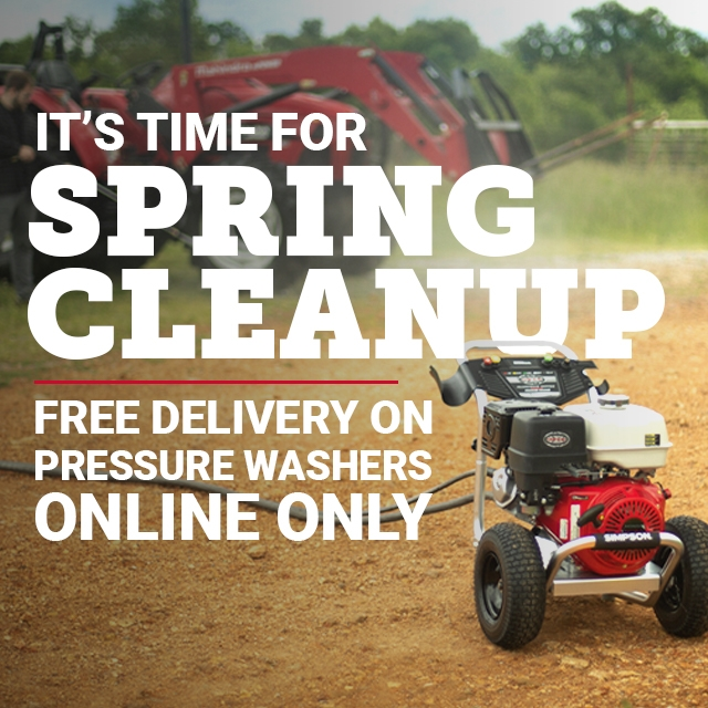 Spring Cleanup - Tractor Supply Co.