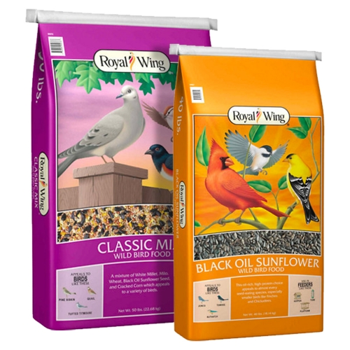 Royal Wing Classic Mix and Black Oil Sunflower Bird Food - Tractor Supply Co.