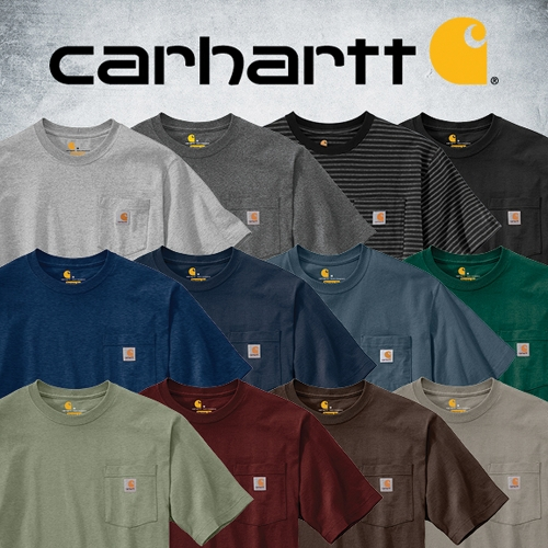 Men's & Women's Carhartt Pocket Tees K87 & WK87 - Tractor Supply Co.