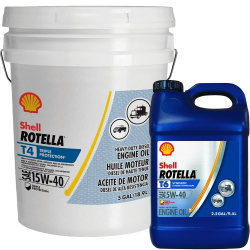 Rotella T4 5 gallon or Rotella T6 2.5 gallon - Tractor Supply Co.