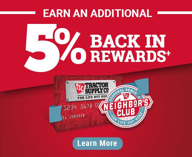 tractor supply credit card account login