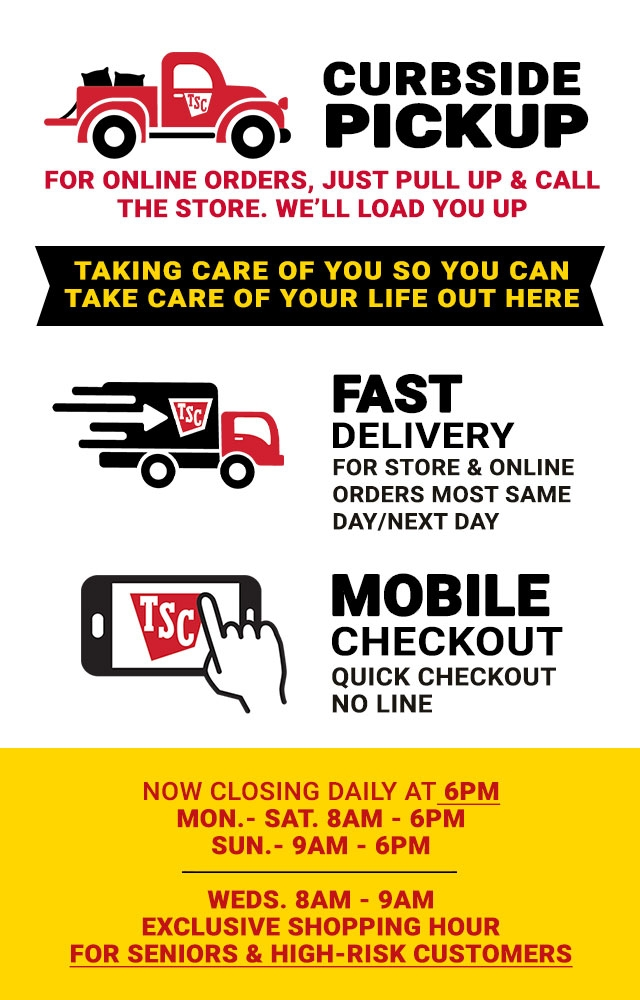Convenient Shopping - Tractor Supply Co.