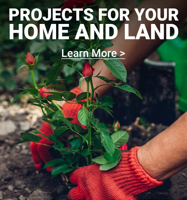 PROJECTS FOR HOME & LAND