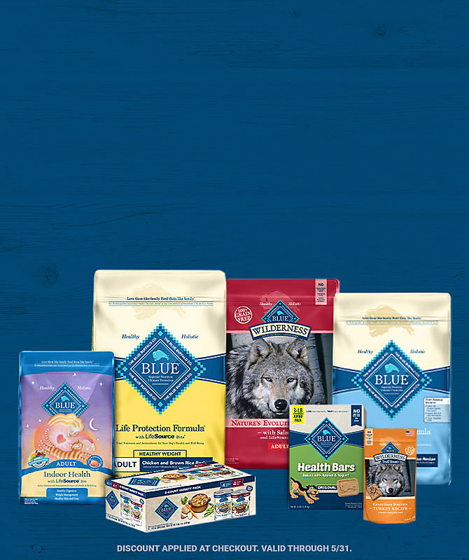 Blue Buffalo Pet Food & Treats - Tractor Supply Co.