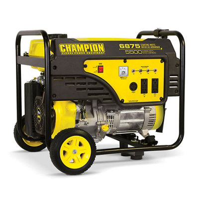 Champion Power Equipment 5500-Watt Portable Generator with Wheel Kit - Tractor Supply Co.