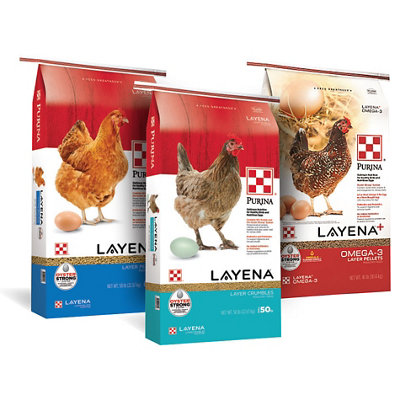 Purina Layena Poultry Feed - Tractor Supply Co.