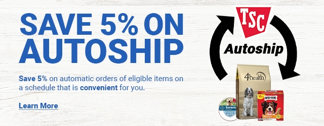 Save 5% on Autoship. Save 5% on automatic orders of eligible items on a schedule that is convenient for you. Learn More.