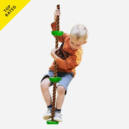 Hey! Play! Hey! Play! Knotted Climbing Rope