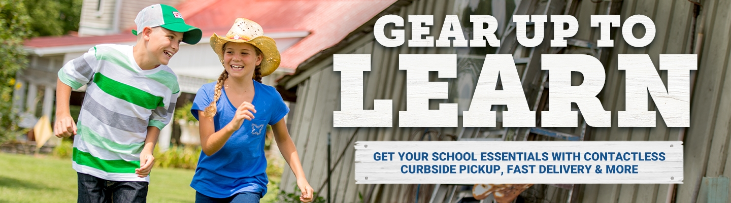 Gear Up To Learn. Get Your School Essentials with Contactless Curbside Pickup, Fast Delivery and More.