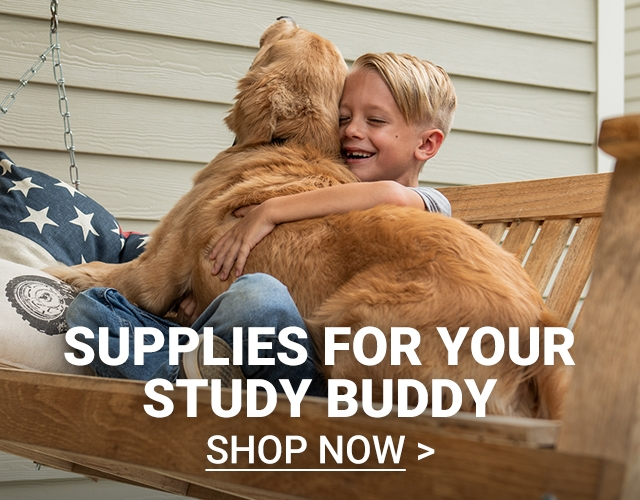 Supplies for Your Study Buddy. Shop Now.