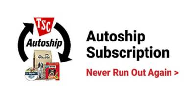 Autoship Subscription. Never run out again.