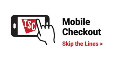Mobile Checkout. Skip the Lines.