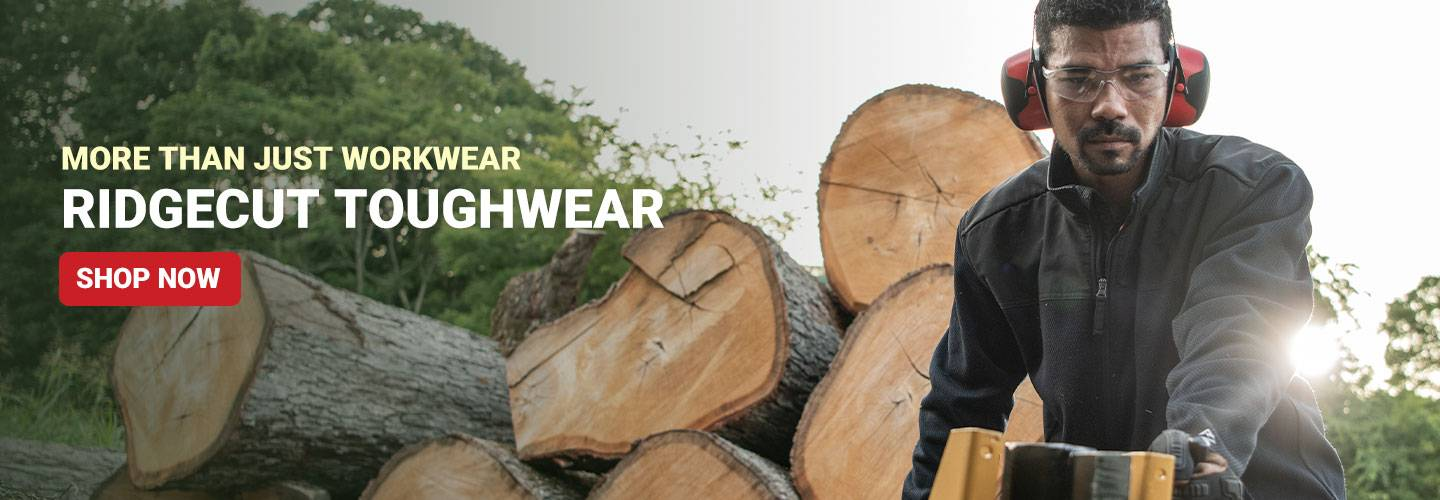 More Than Just Workwear. Ridgecut Toughwear. Shop Now.