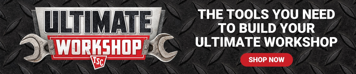 TSC Ultimate Workshop. The Tools You Need to Build Your Ultimate Workshop. Shop Now.