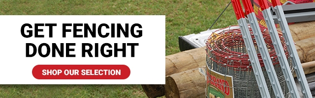 Get Fencing Done Right. Shop Our Selection.