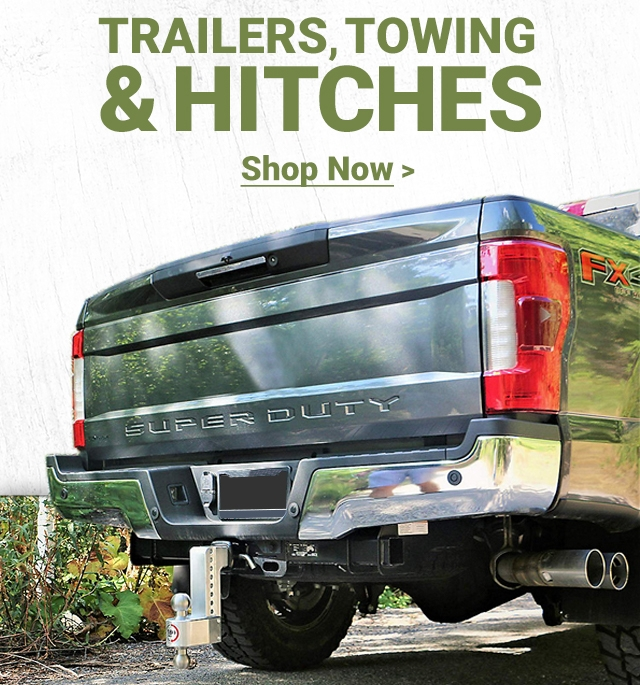 Trailers, Towing and Hitches. Shop now.