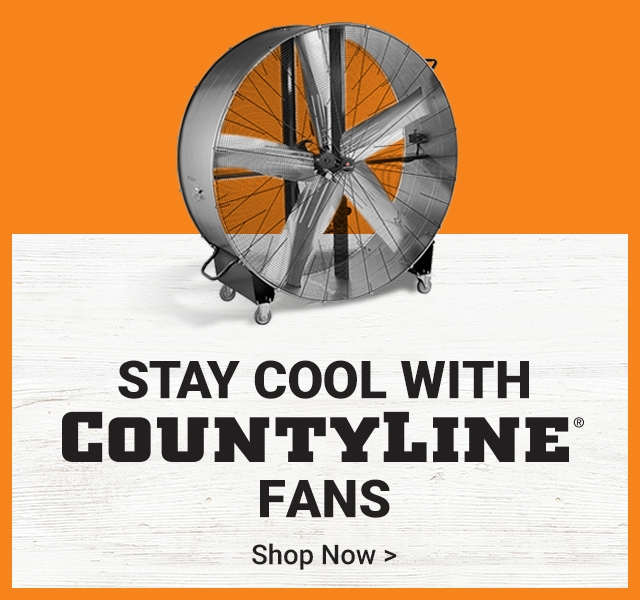 Stay Cool with CountryLine Fans.