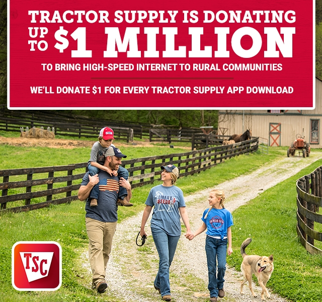 The Official App for Your Life Out Here | Tractor Supply Co.