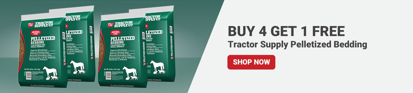 Tractor Supply Pelletized Bedding