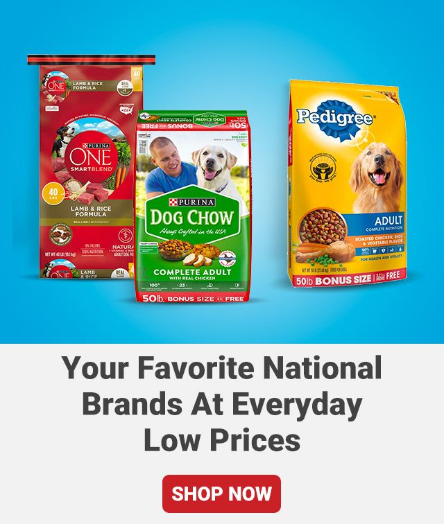 Your Favorite National Brands at Everyday Low Prices. Shop Now.