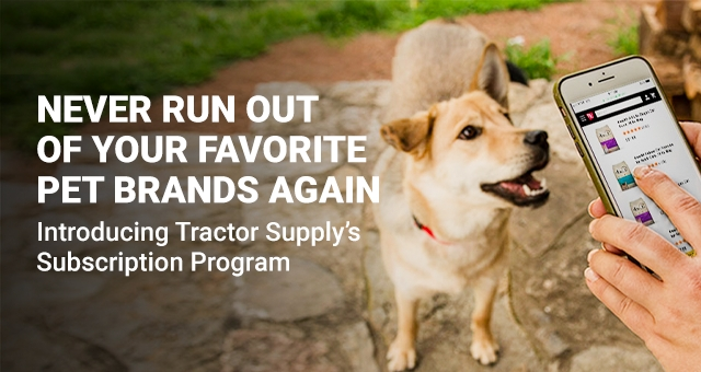 Subscription - Tractor Supply Co.