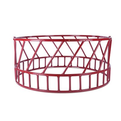 CountyLine Heavy Duty Slant Bar Hay Feeder for Cattle; 2 Piece