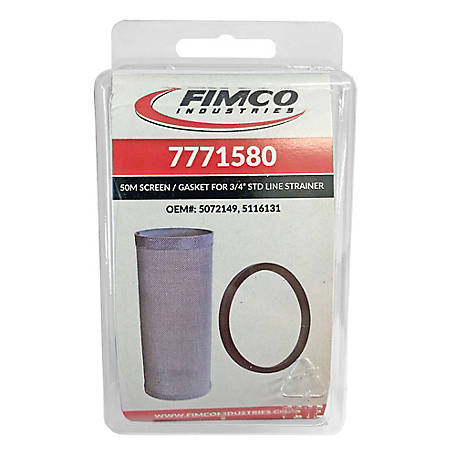 Fimco 40 Mesh Screen & Gasket, 7771580