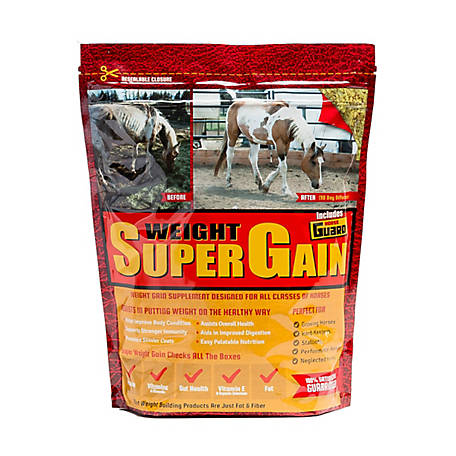 Horse Guard Super Weight Gain, 10 lb., SUPER GAIN 10LB