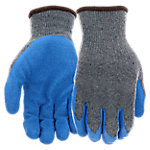West Chester Men's Latex Coated Palm & Fingertips Gloves