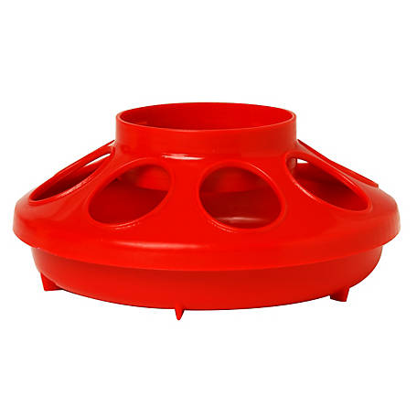 Little Giant Plastic 1-Quart Feeder Base, 806RED