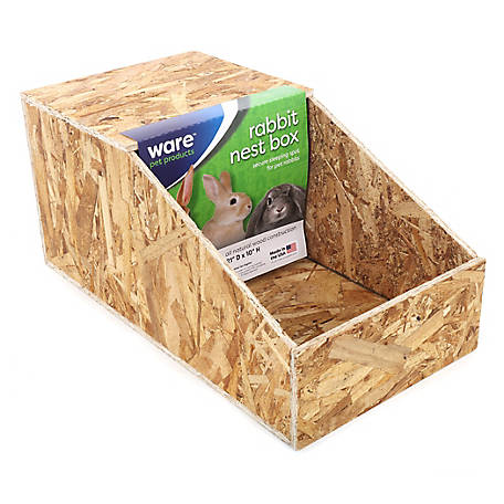 Ware Manufacturing Wood Nesting Box, Large, 1571