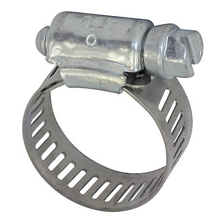 Fimco 1/2 in. Wide Stainless Steel Hose Clamp, 3/4 in. to 1 in. ID Hose, 5051023