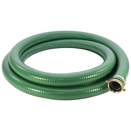 Abbott Rubber PVC Pump Suction Hose, 2 in. ID x 20 ft., 1240-2000-20-RP