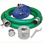 Abbott Rubber Water Pump Suction/Transfer Hose Kit with Attachments, 3 in. ID, X1240-KIT-3000-1147-CN