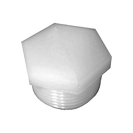 Green Leaf Nylon Hex Plug, 3/4 in. MPT