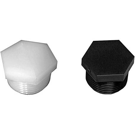 Green Leaf Nylon Hex Plug, 1-1/4 in. MPT