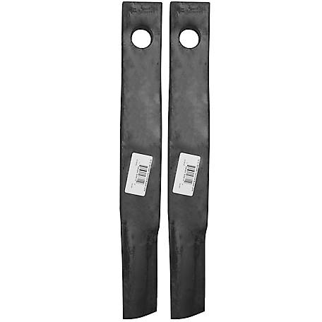 CountyLine 5 ft. Rotary Cutter Blades, Pack of 2