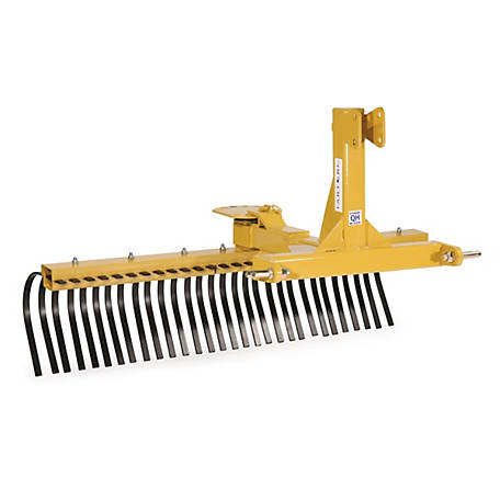 CountyLine Landscape Rake, 5 ft. W