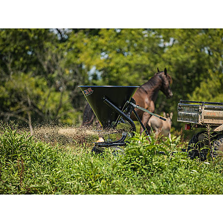 Tarter Farm and Ranch Equipment ATV 5-Bushel Pull-Behind Spreader/Trail Feeder, ATVS