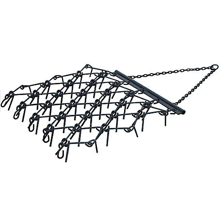 ATV 4 ft. x 4 ft. Chain Harrow with 4 ft. Drawbar