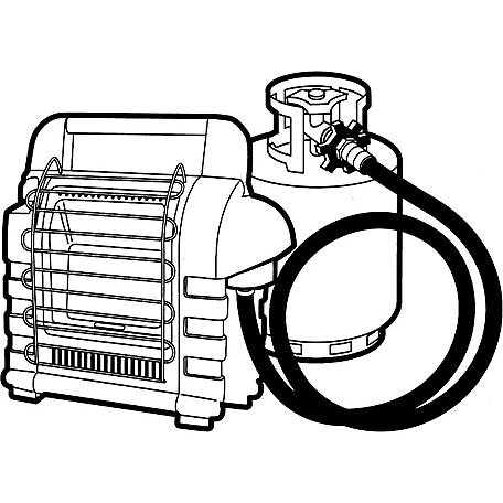 Mr. Heater 12 ft. Propane Hose Assembly