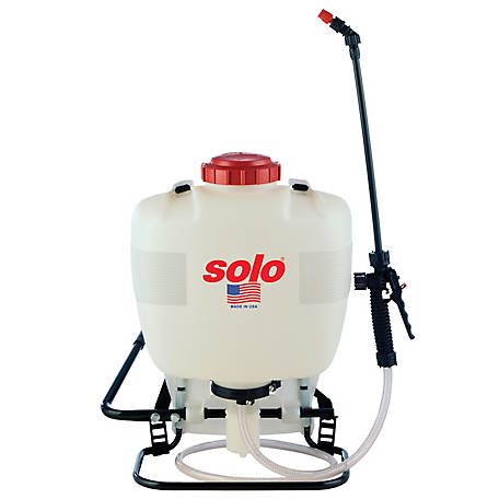 Solo Backpack Sprayer with Piston Pump, 425