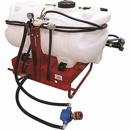 Fimco 60 gal  3-Point Hitch-Mounted Sprayer with 7-Nozzle Boom, Deluxe  Handgun, LG-60-3PT-WP-309-TSC at Tractor Supply Co