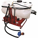 Fimco 60-Gallon 3-Point Hitch-Mounted Sprayer with 7-Nozzle Boom, Hypro Roller Pump and Coupler, Deluxe Handgun