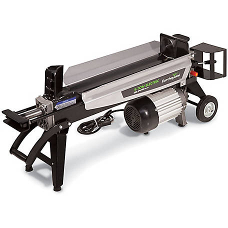 Earthquake Portable Electric 5-Ton Log Splitter, W1200