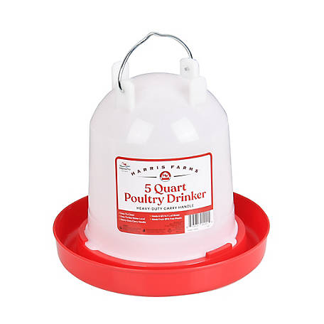 Harris Farms Poultry Drinker, 5 qt., 1000260