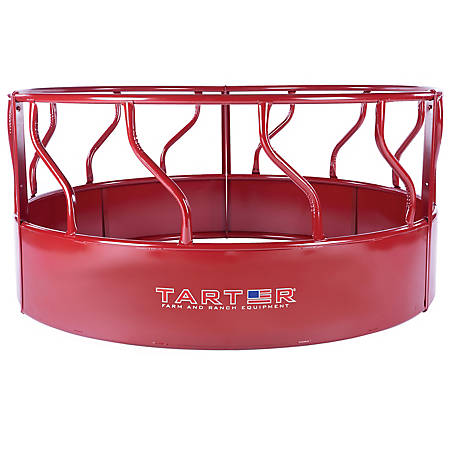 Titan Cattle Feeder with Hay Saver 3-pc. S-Bar Hay Feeder with Hay Saver, Rfm