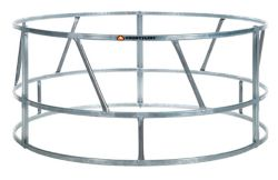 Shop CountyLine 8 ft. Galvanized Bale Feeder at Tractor Supply Co.