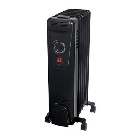 RedStone Multi-Purpose Oil-Filled Radiator Heater, CZ7007BKTS
